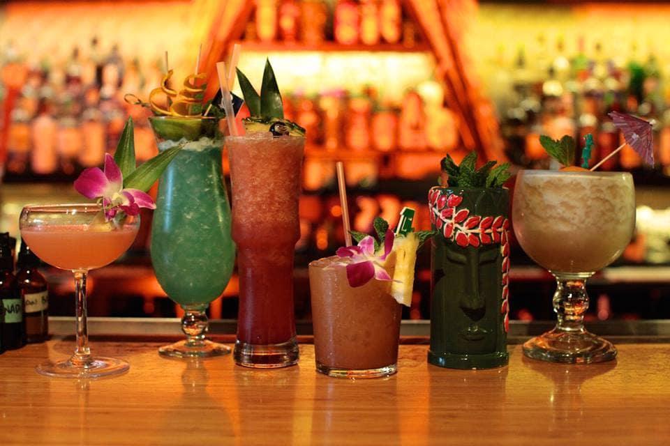 Tiki Cocktails Bar Hire