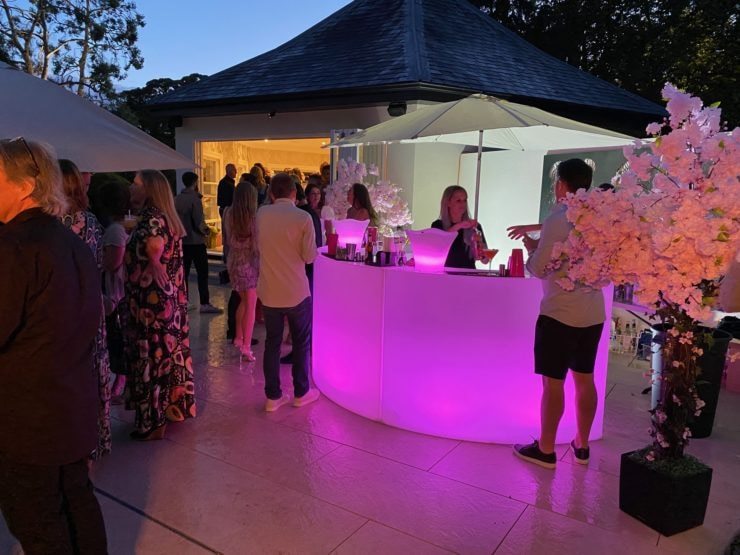 LED Mobile Bar Hire For Private Party