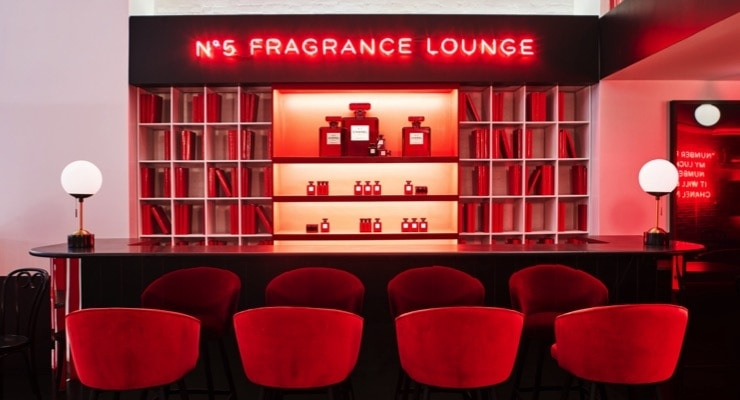 fragrance pop up