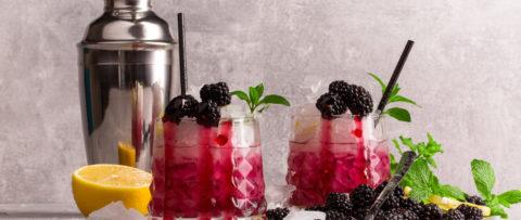 Blackberries Cocktails